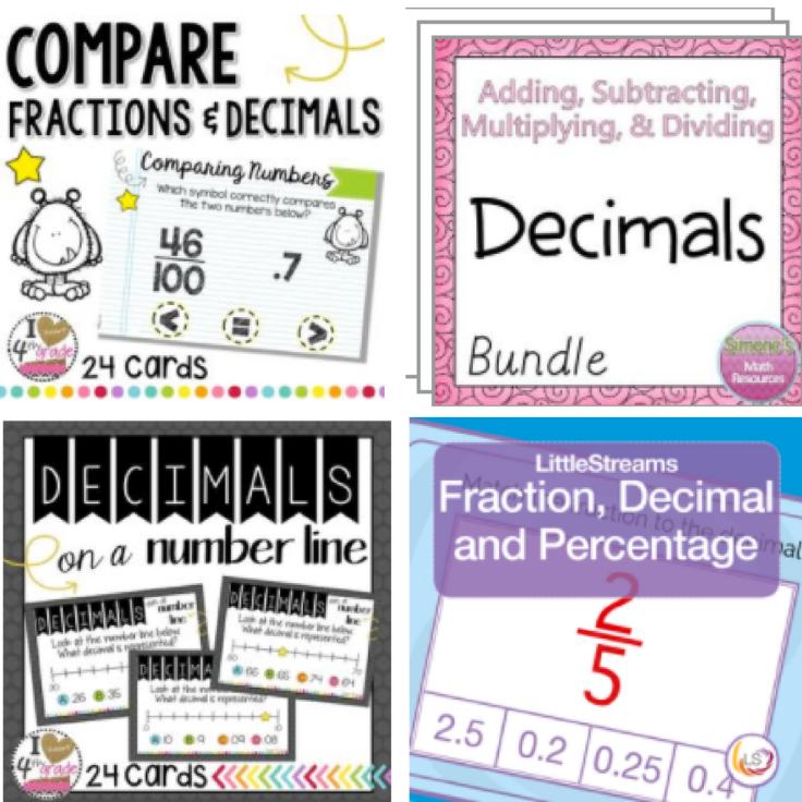 3-5 Math Decimals